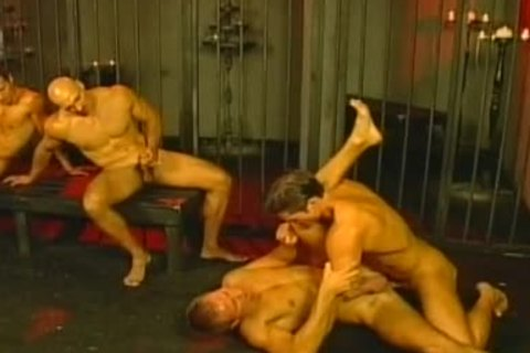 submissive And taskmaster homo boyz nail In Love Dungeon