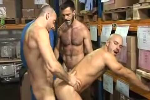 Foursome hairy Hung