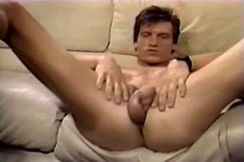 Jerking To A Jeff Stryker video Then sucking Him For Real