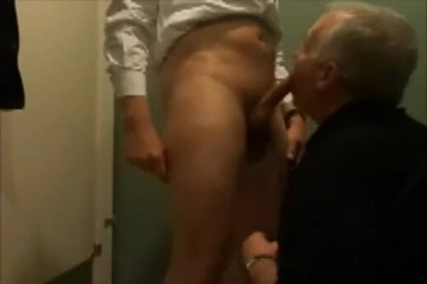 unprotected slam In Public Restroom