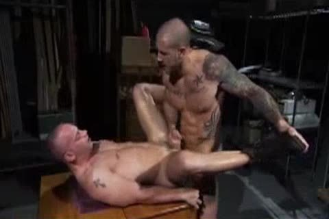 Harley Everett pounds Patrick