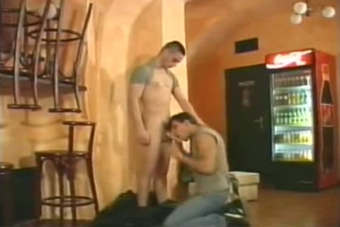 Leather And Jeansboy In Hotelboys