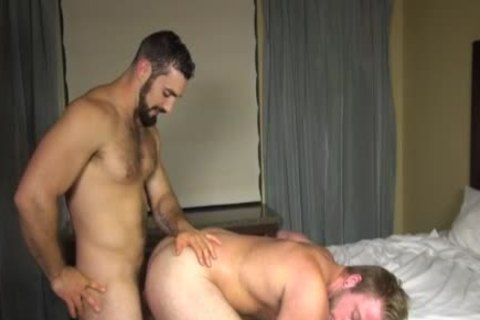 Muscle homosexual nailed doggystyle