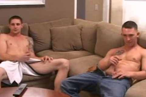 Buddies jack off Session Leads To Penetration
