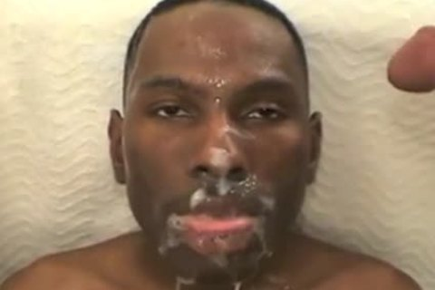 black twink Drowned With White sperm