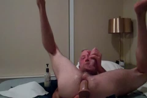 Daddy Dildos wazoo And Gapes And Cums