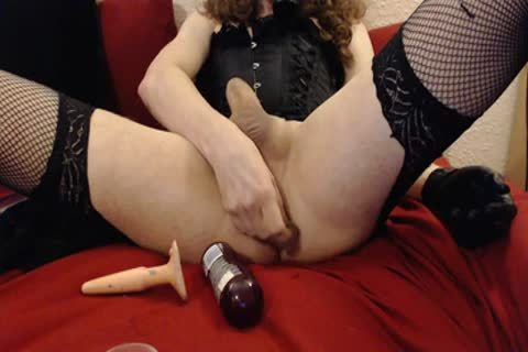 Corseted Sissy Plays