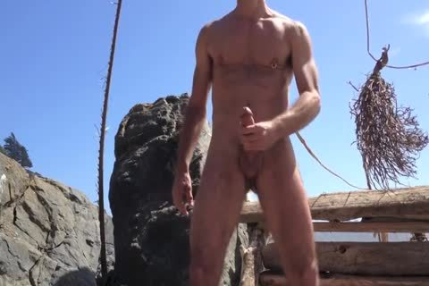 plowing And jerking off And Squirting At The bare Beach