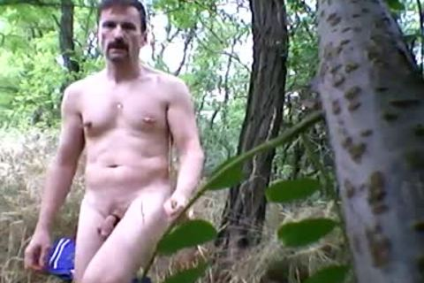I Was naked In The Woods Near The Trail.