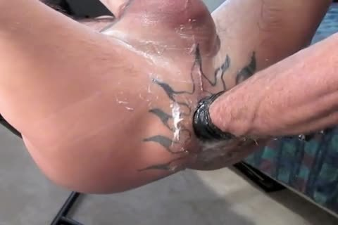 I finally gotta His Place Since that lad Got His Sling. intimate videos For Polishing His 10-Pounder And For Using The Stamen toy too.  Plus One For Pumped Balls And 10-Pounder Play.