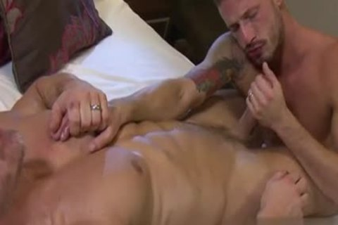 young Stepfather deep face gap swallow