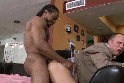 Banker Gaped And Stretched By A BBC