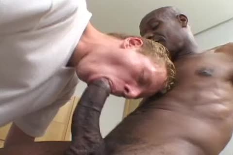 darksome homosexual lad With gigantic 10-Pounder ass Rams