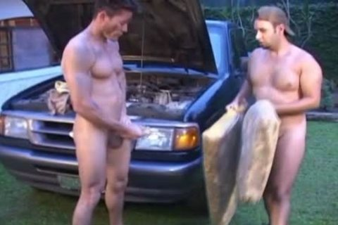 Oiled And indecent homosexual boys nail Outside