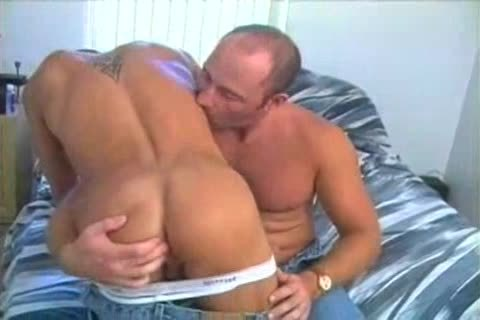 messy young homosexual man gangbanged Hard By A old lad