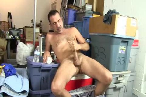 excited homosexual fella Uses A Bottle To plow Himself