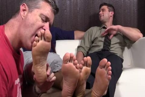 ribald studs Cole And Kenny Love To Have Their Feet Worshipped