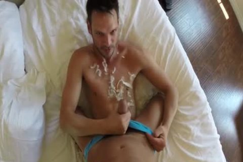 moist chap Getting His arse banged With jizz To enjoy