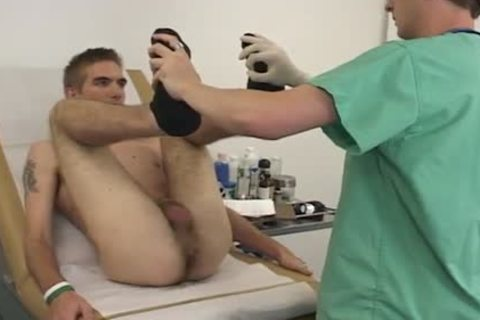 His wazoo acquires Finger pounded To Check His Prostate