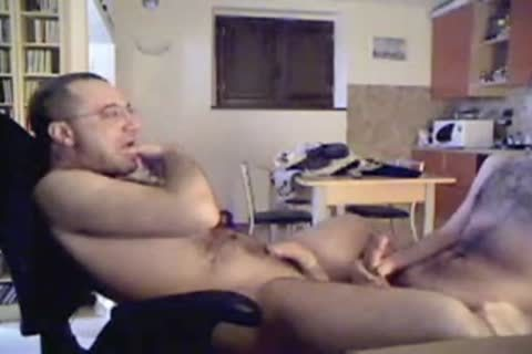 wanking And lots of sperm