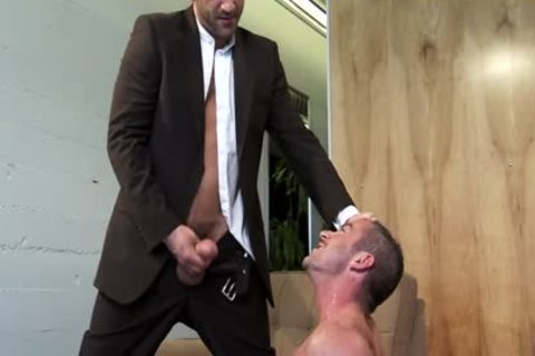 Eye Contact: Christopher Saint & Tony Buff!