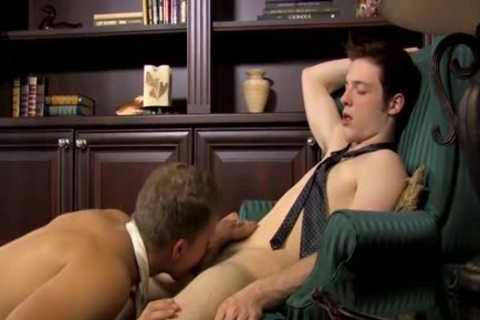 Jesse Jordan receives His chocolate hole plowed