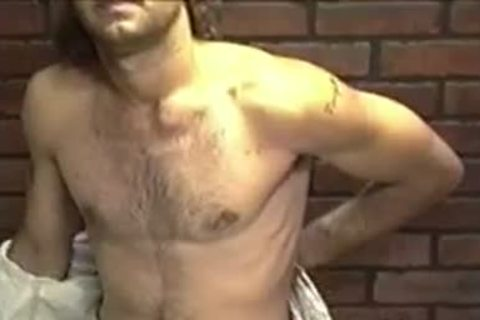 delicious dilettante dude Dallas With long Hair Enjoys In A Solo Play