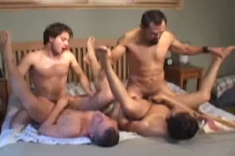 lusty gay Foursome pound