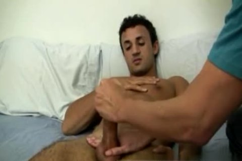 tasty Dentist homosexual Sex videos Mr. Hand Works Him Magic one time