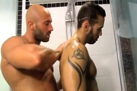 nice-looking Smooth pumped up Hunks passionate Sex