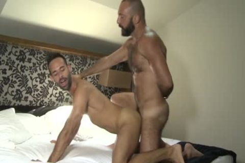 Latin Bear Casting bed And cumshot