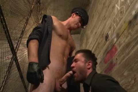 hardcore gay Cops With fascinating Muscles Enjoys Domination With Facial And taut arse fucking