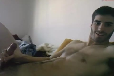 enormous Cocked Exhibitionist stroking His Megadick
