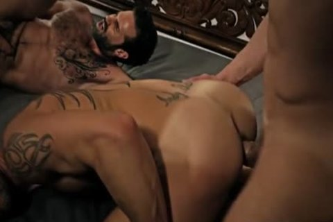 Tattoo homosexual butthole slam With cumshot