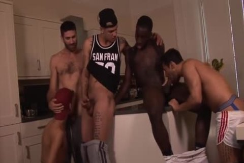 Interracial orgy Time Featuring Mickey Taylor dark