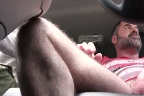 wicked dad pounds His Step Son In A Car - FAMI