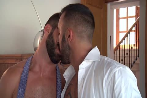 Bearded threesome Session