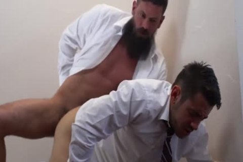 young Mormonboyz bare Priest plowing