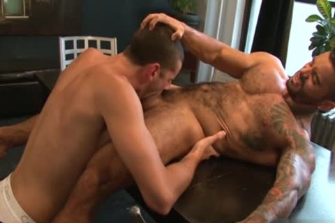 enormous 10-Pounder homo butthole job With ejaculation