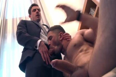 Muscle homo anal sex With Facial
