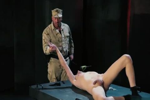 Tattoo Military Fetish With ejaculation