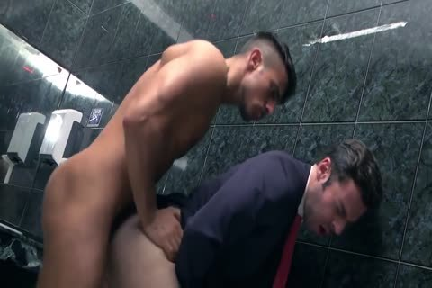My Boss bang Me bareback In latrine