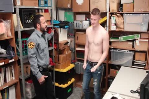Tall blonde Straight lad Barebacked By daddy attractive Security