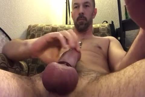 worthwhile Closeup Of Me Playing With My Pierced penis