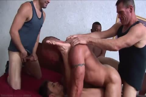 The superlatively admirable Of gay double penetration - butthole DP