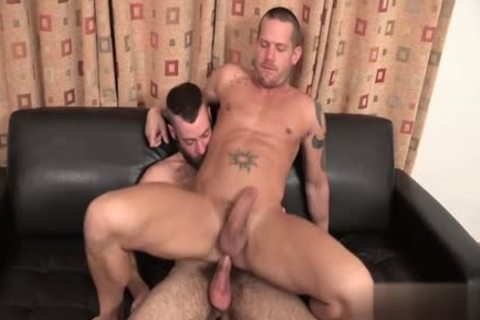 large shlong homosexual Flip Flop And cumshot