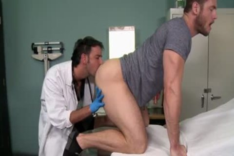 Muscle Doctor ass-copulation And cream flow