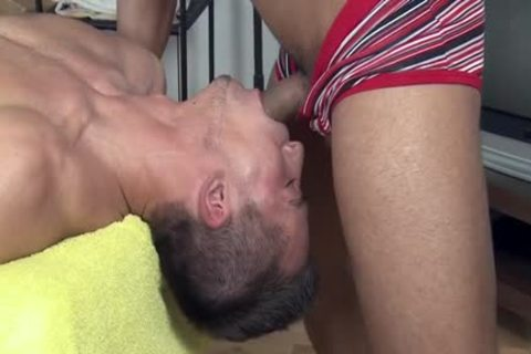 sexy Daddy ass hammer And Massage