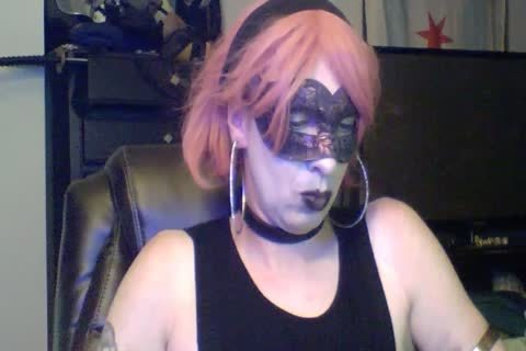 naughty Dancing Goth CD web camera Show (part 2 Of 2)