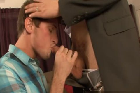 stunning homo oral pleasure job And cumshot